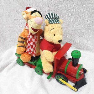 Disney Christmas Winnie the Pooh & Tigger Train